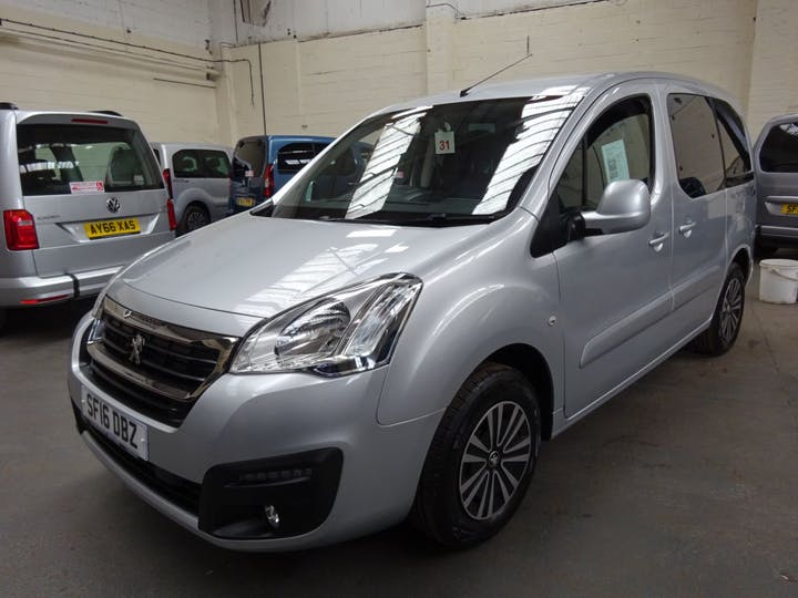 Silver Peugeot Partner Tepee Active 2016