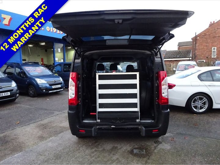 Grey Peugeot Expert HDi Tepee Comfort L1 2015