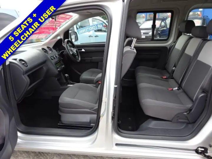 Silver Volkswagen Caddy Maxi C20 Life TDi 2011
