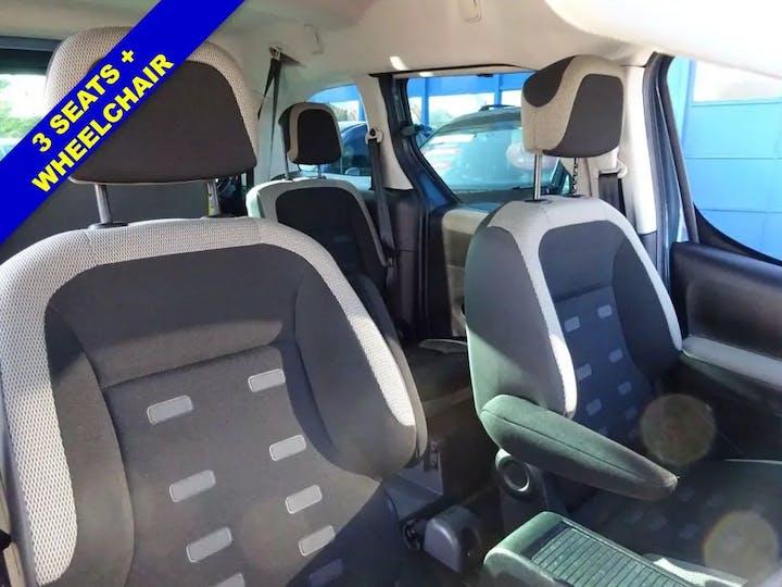 Blue Citroen Berlingo Multispace HDi Xtr 2014