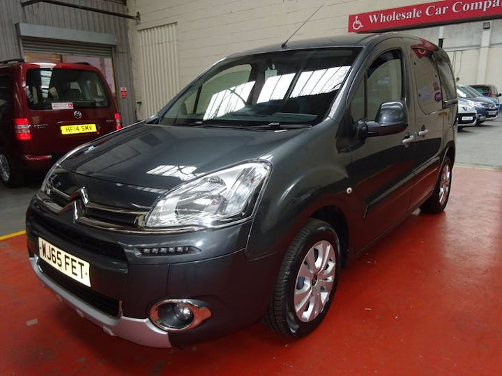Grey Citroën Berlingo Multispace HDi Plus 2015