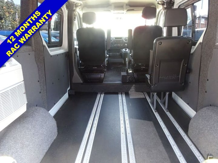 White Renault Master Sl28 Business DCi L/r P/v Quickshift 2016