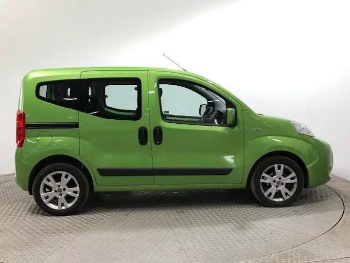 Green FIAT Qubo MultiJet Mylife 2016