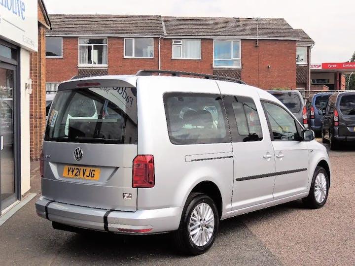 Silver Volkswagen Caddy Maxi C20 Life TDi 2021