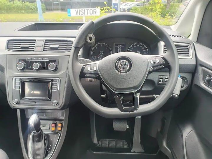 Green Volkswagen Caddy C20 Life TDi 2020