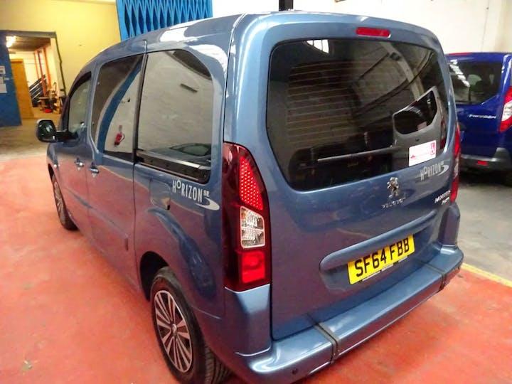 Blue Peugeot Partner HDi Tepee S 2014