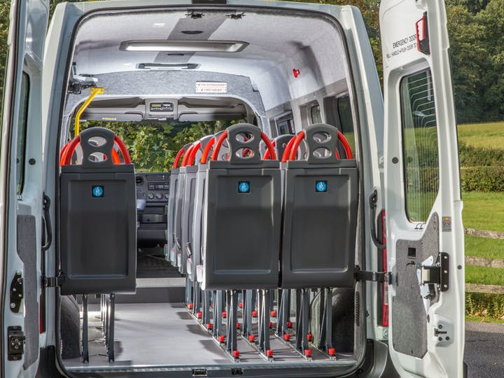 White Renault Master Lm39 Business Energy Dci 2018