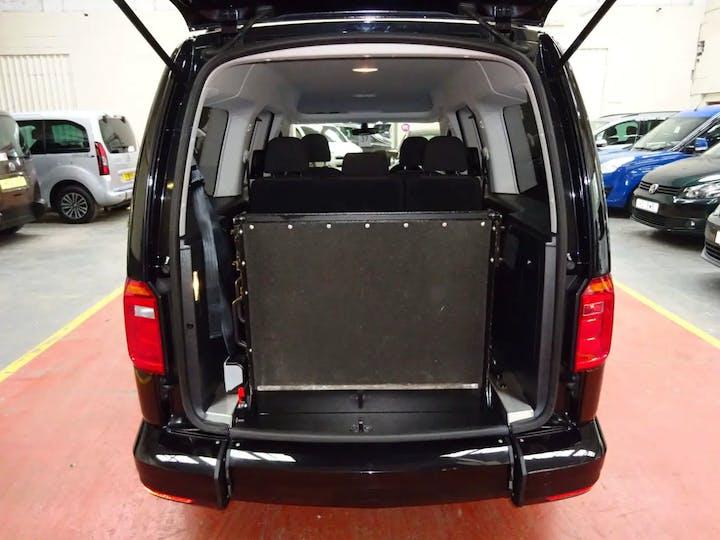 Black Volkswagen Caddy Maxi C20 Life TDi 2018