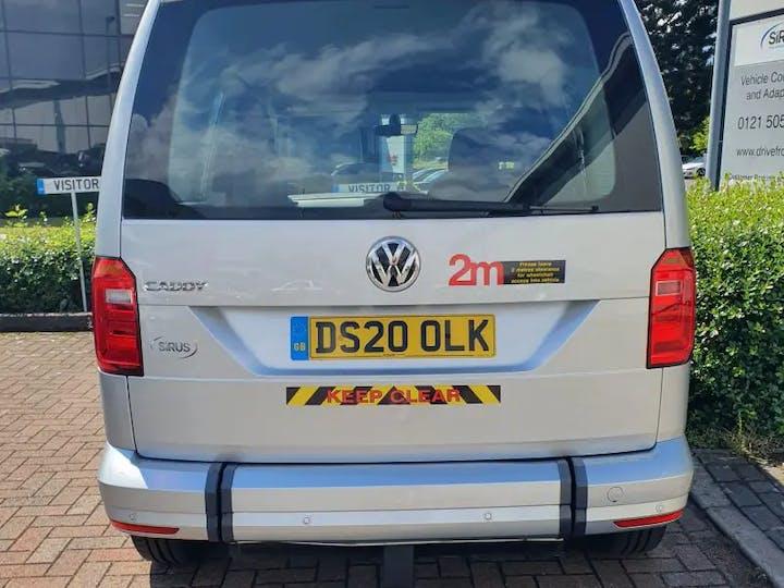 Silver Volkswagen Caddy C20 Life TDi 2020