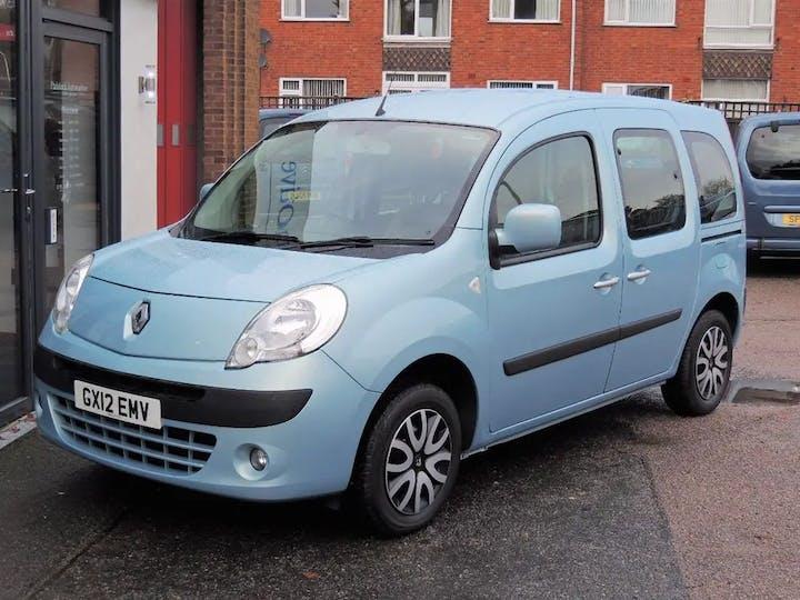 Blue Renault Kangoo Expression 16V 2012