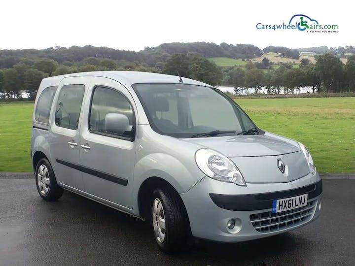 Grey Renault Kangoo Expression Dci 2011
