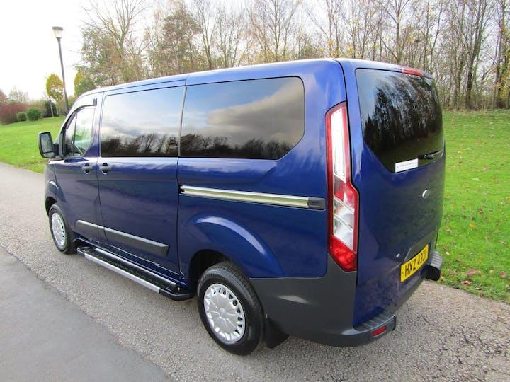 Blue Ford Transit Custom 310 Trend TDCi Kombi 2015