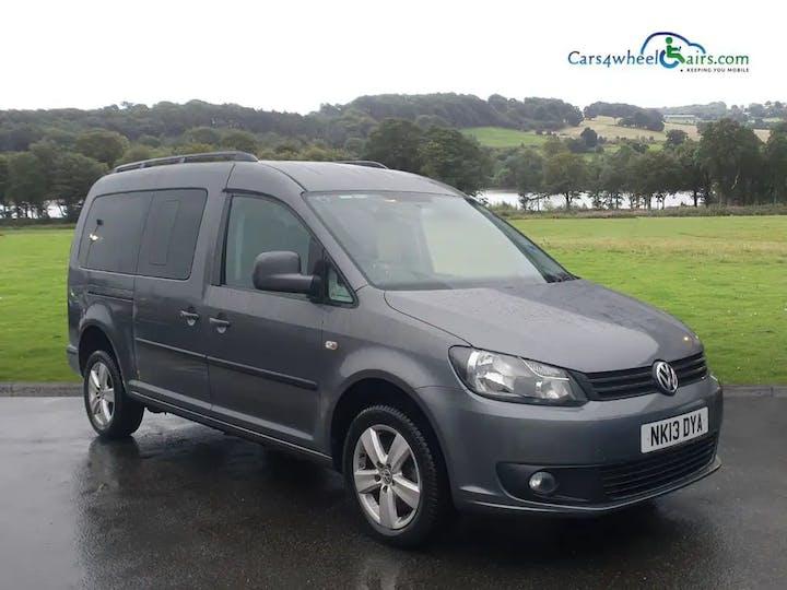 Grey Volkswagen Caddy Maxi C20 Life TDi 2013