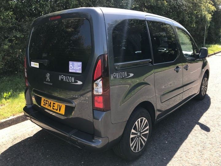 Grey Peugeot Partner HDi Tepee Outdoor 2014