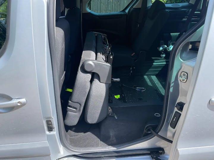 Silver Peugeot Partner Horizon RS/blue HDi S/S Tepee Allure 2018