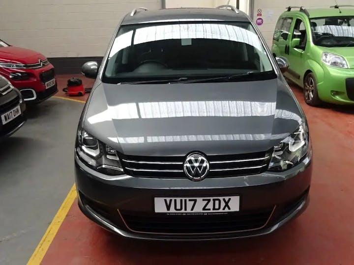 Grey Volkswagen Sharan SE Nav TDi Bluemotion Technology DSG 2017