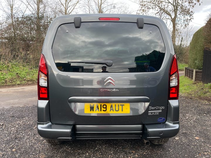 Grey Citroën Berlingo Multispace Bluehdi Edition Etg6 2019