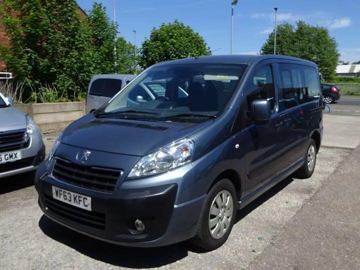 Grey Peugeot Expert E7 Taxi HDi L1 2013
