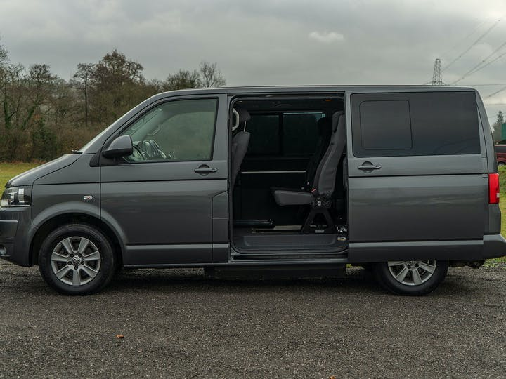 Grey Volkswagen Caravelle SE TDi 2012