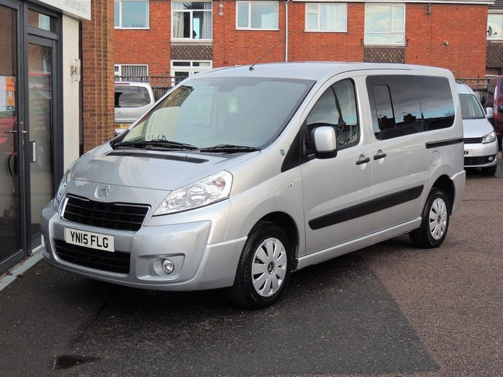 Silver Peugeot Expert Tepee Leisure L1 HDi 2015