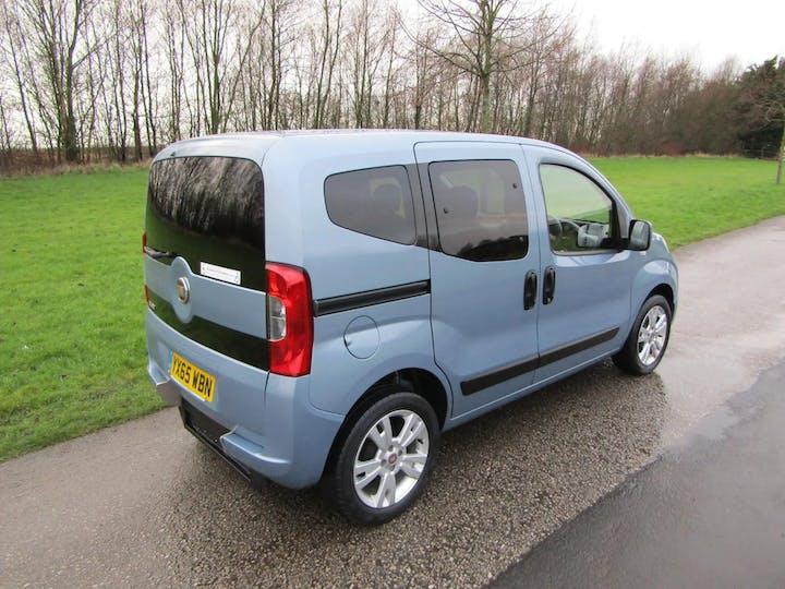Blue FIAT Qubo Mylife 2015