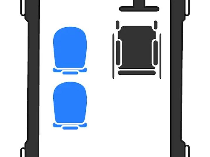 Grey Volkswagen Caddy C20 Life TDi 2017