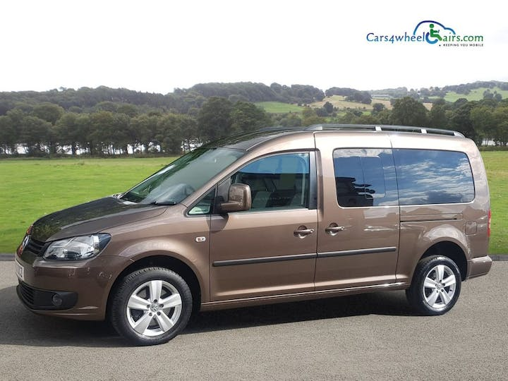 Brown Volkswagen Caddy Maxi C20 Life TDi 2013