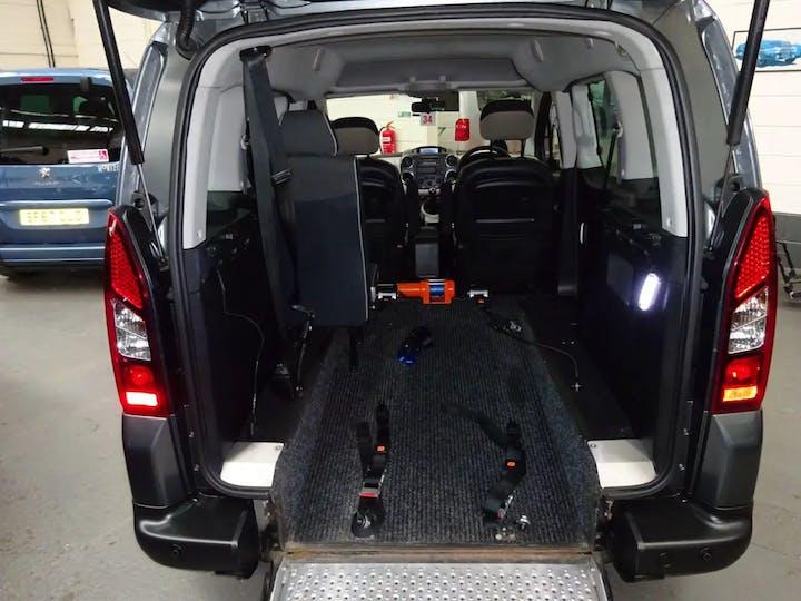 Grey Citroën Berlingo Multispace HDi Xtr 2016