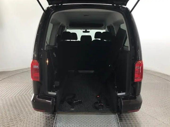 Purple Volkswagen Caddy Maxi C20 Life TDi 2016