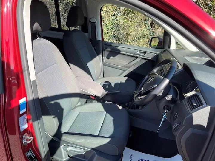 Red Volkswagen Caddy Maxi C20 Life TDi 2016