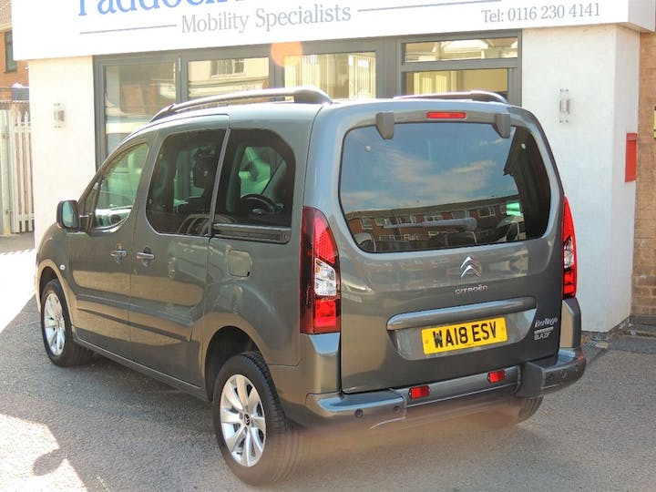 Grey Citroën Berlingo Multispace Bluehdi Platinum 2018
