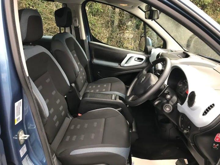Blue Citroën Berlingo Multispace E-hdi Airdream Xtr Egs 2013