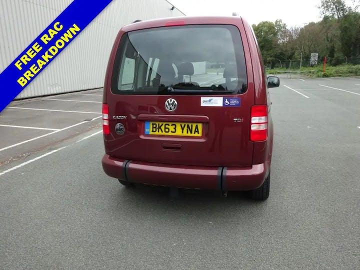 Wheelchair Accessible Volkswagen Caddy C20 Life TDi 2014 ...