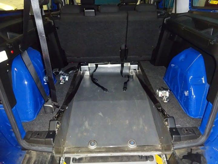 Blue Vauxhall Combo L2h1 2300 Colorado CDTi 2018