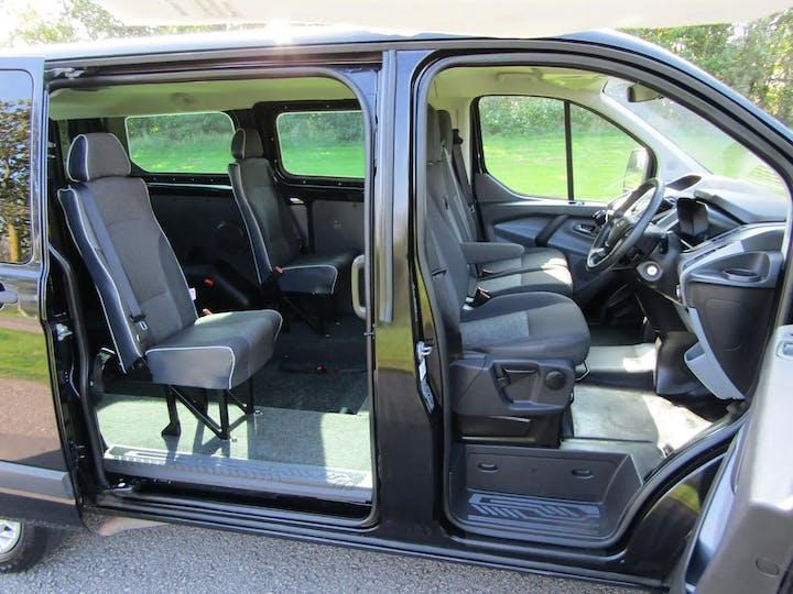 Black Ford Transit Custom 310 Trend TDCi Kombi 2015