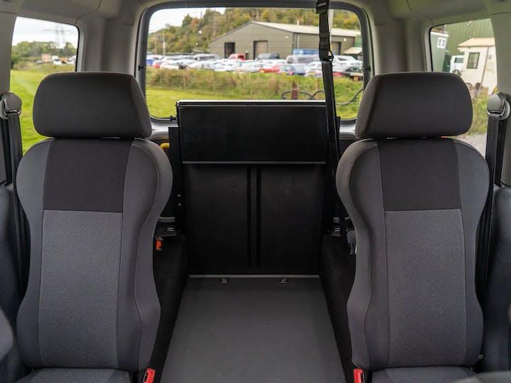 Silver Volkswagen Caddy C20 Life TDi 2015