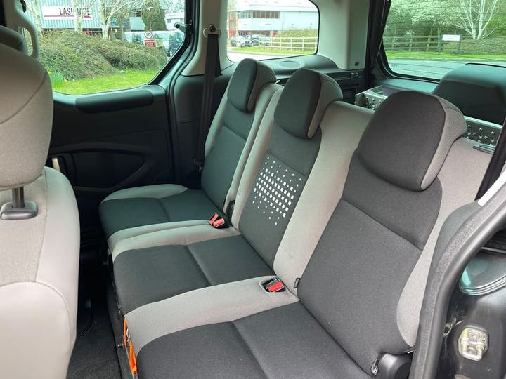 Grey Citroën Berlingo Multispace Bluehdi Feel Edition Etg6 2016