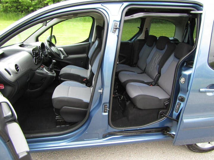 Blue Peugeot Partner Blue HDi S/S Tepee Active 2015