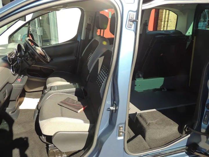 Blue Citroen Berlingo Multispace Bluehdi Feel Edition Etg6 2016