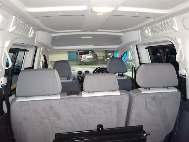 Grey Volkswagen Caddy Maxi C20 Life TDi 2012