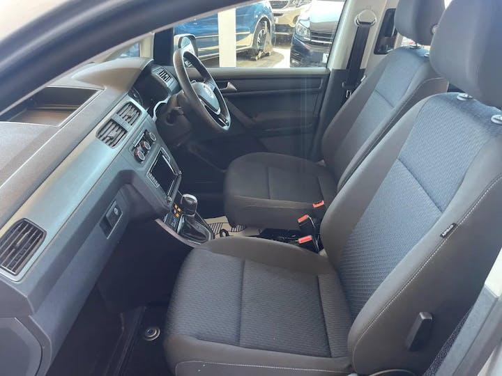 Silver Volkswagen Caddy C20 Life Tsi 2018