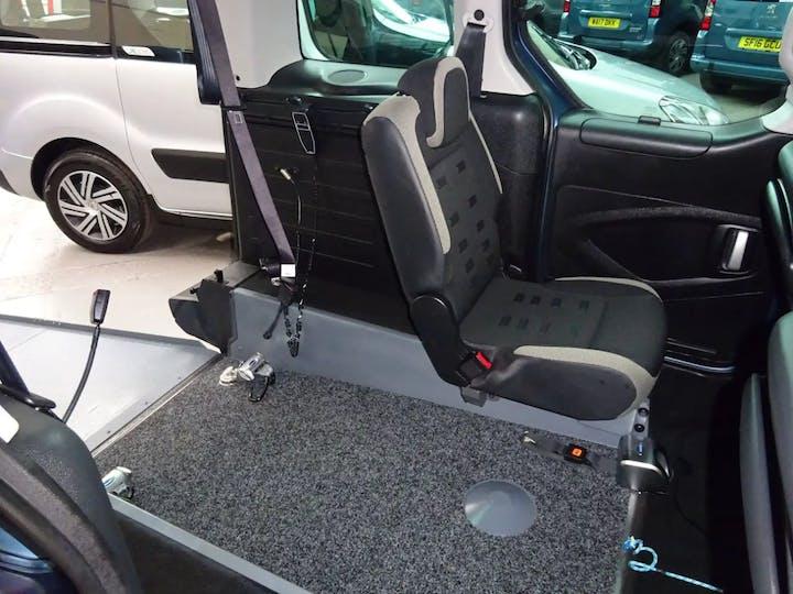 Blue Citroën Berlingo Multispace E-hdi Xtr Etg6 2015