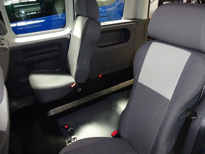 Green Volkswagen Caddy C20 Life TDi 2011