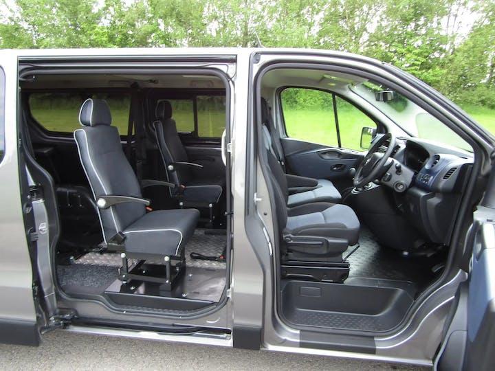 Grey Vauxhall Vivaro L1h1 2900 Combi CDTi Ecoflex S/S 2017