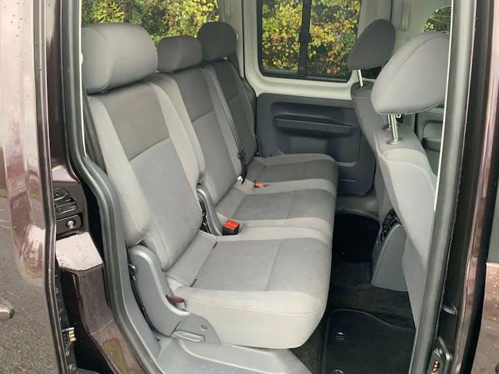 Purple Volkswagen Caddy Maxi C20 Life TDi 2015