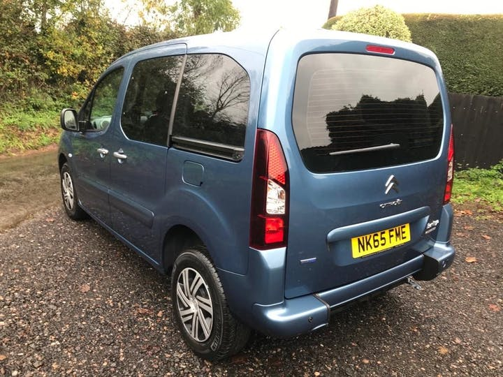 Blue Citroën Berlingo Multispace Bluehdi Feel Edition Etg6 2016
