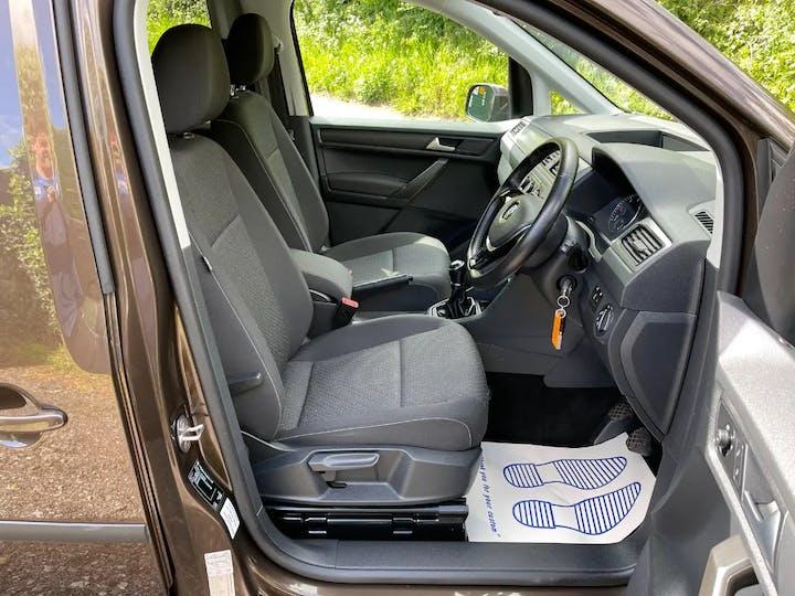Brown Volkswagen Caddy Maxi C20 Life TDi 2017