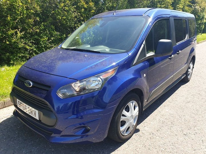 Blue Ford Freedom Grand RS 2016
