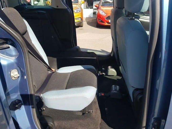 Blue Citroën Berlingo Multispace HDi Plus 2014
