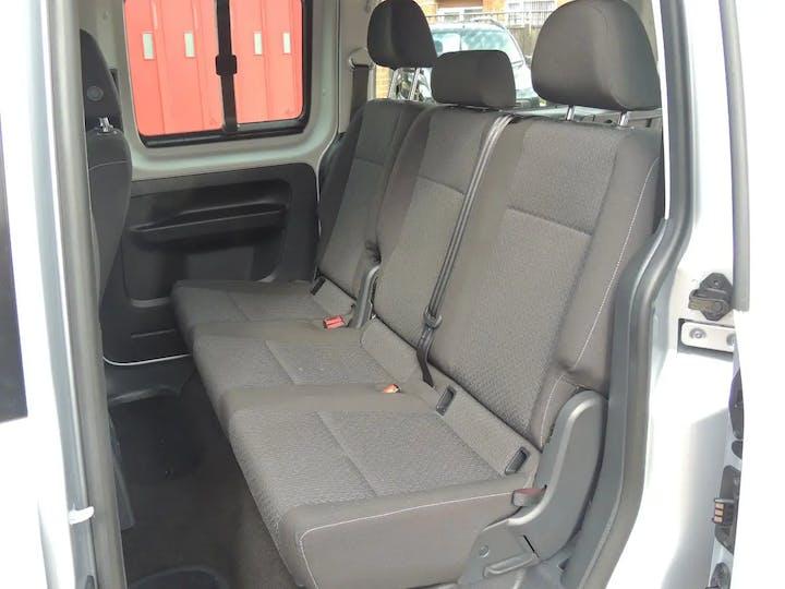 Silver Volkswagen Caddy Maxi C20 Life TDi 2017